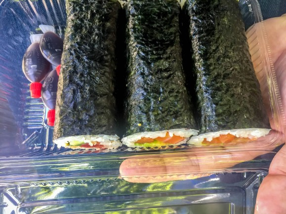Fed Square sushi!